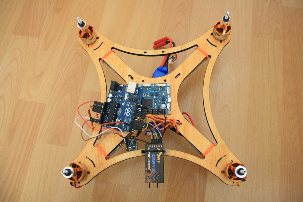 Quadcopter s georgiev page
