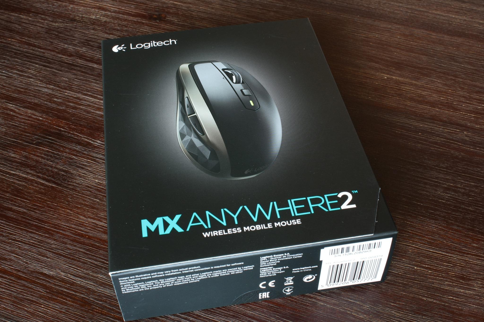 Tidsmæssigt Review: Logitech MX Anywhere 2 Mouse | s|georgiev.com CX-11